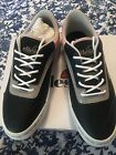 Ellesse Alzina 405 9 Black Gray Pink Leather Tennis Shoes Sneakers Womens New