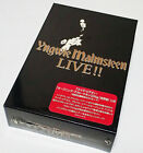 First Limited Box Yngwie Malmsteen Live / Cd3 Sheets Vhs Video