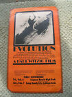Vintage surfing surf movie poster surfboard evolution paul witzig surfer 1960s