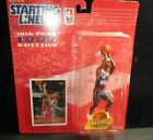 New Starting Lineup 10th Year 1997 Clyde Drexler Edition Figure w Card Extended