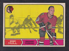 1968-69 O PEE CHEE BOBBY HULL CARD Bv$75+ Almost Mint