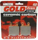 Gilera RV 200 Brake Disc Pads Front R/H Goldfren 1985-1986