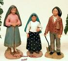 FONTANINI DEPOSE ITALY 3PC CHILDREN OF FATIMA VILLAGE FIGURES NIB