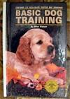 Basic Dog Training Book by Miller Watson 1989 with Photos  Drawings