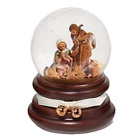 Nativity Scene Christmas Musical Water Dome 6 Inch