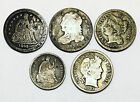 RARE LOT OF OLD COINSINCLUDES 42 O SEATED DIMEMANY SCARCE DATESWOW NR 16656