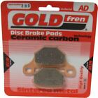Rieju RS2 FR 50cc Brake Disc Pads Rear R/H Goldfren 2009-2010