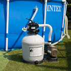 Swimming Pool 16 inch Sand Filter with 3100 GPH 3 4 HP Pool Pump Timer Package
