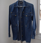 Versace Vintage Jean Button Down Top size Small