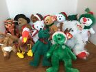 12 Ty Beanie Baby Babies Holiday Thanksgiving Christmas Little Feather Plymouth