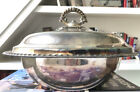 Sterling Silver Bowl with Lid 10 Diameter 257 oz