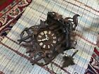 RARE!! Antique BEHA Hummingbird ? CUCKOO CLOCK ~ PROJECT LOT