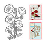 Remembrance Flower Metal Cutting Dies Stencil Scrapbooking Embossing Cards DIY