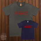 Bridgeport Milling Machine Red Label Logo T Shirt Rare Vintage Logo Gildan