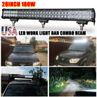 28IN 180W LED LIGHT BAR SPOT FLOOD COMBO OFFROAD DRIVING ATV BOAT 20 30 40