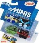 Fisher-Price Thomas & Friends MINIS, DC Super Friends #18(4-Pack) New!(Genuine)