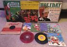 Christmas Carols Vinyl Lot Eleven Amazing Records In Great Condition Must See