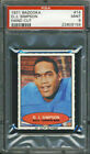 1971 Bazooka #14 OJ Simpson PSA 9 Buffalo Bills HOF
