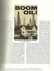 BOOM OIL - HISTORY OF OIL RUSH FRONTIER TOWNS OF OK