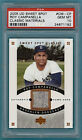 the 2005 UD Sweet Spot Roy Campanella Game Used Pants #CM-CP PSA 10! POP 2!