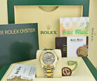 ROLEX - Midsize 18KT GOLD & Stainless YACHTMASTER Slate Gray 168623 - SANT BLANC