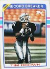 Tim Brown Football Cards, Rookie Cards and Autographed Memorabilia Guide 7