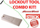 Quick Max Long Reach Tool With Steck Plastic Wedge Combo Kit New Free Shipping
