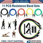 11 Pieces Resistance Trainer Set Exercise Fitness Tube Gym Workout Bands WINIT