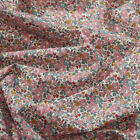 Liberty Betsy Ann B Bright Pink Tana Lawn Fabric quilting floral Christmas