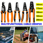 Cable Wire Stripper Cutter Crimper Automatic Multifunctional Plier Electric 200m