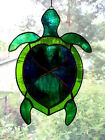 Handmade Stained Glass TURTLE SUNCATCHER TUR46