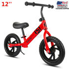 12 Kids Balance Bike No Pedal Bicycle Ride Scooter Toys Children Training Gift