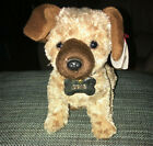 Ty Beanie Baby Odie brown - MWMT (Dog Garfield Movie Beanie)