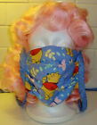 Child Sized Winnie the Pooh  Piglet Face Mask Reversible with Ties