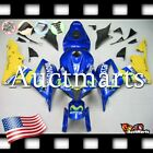 For Honda CBR600RR 2007-2008 Fairing Bodywork ABS Blue Yellow Movistar 1h137 CE