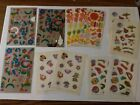 Vintage RARE Stickers Lot of 12 Sheets 1983 1984
