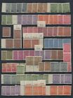 Germany Russian Occupation Saxony 3 Pages MNH Blocks Pairs Singles