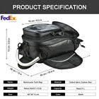 1Pc Motorcycle Magnetic Fuel Oil Tank Bag  Multifunctional Bag Travel Luggage US