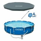 Intex 12 x 30 Metal Frame Above Ground Pool Filter Cover  Maintenance Kit