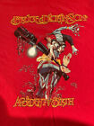 Iron Maiden Bruce Dickinson ACCIDENT OF BIRTH Vintage T shirt Size M RARE