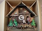 Black Forest Musical Cuckoo Clock Mill Clock 513-MH Dold Exquisit, West Germany