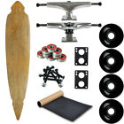 Moose Longboard Complete 925 x 46 Concave Cut Out Pintail Natural