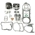 57mm Bore Engine Rebuild Set Cylinder Kit Engine Head 157QMJ 150cc GY6 Scooter