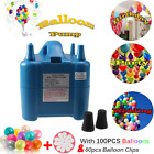 Portable High Power Two Nozzles Air Blower Electric Balloon Inflator Pump