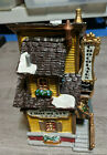 Lemax Cristmas Village Collection Lucy's Chocolate Shop Porcelain Diorama House