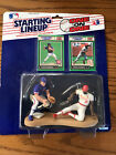1989 Ryne Sandberg/Vince Coleman Starting Lineup One On One Sealed Packaging