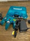 Nintendo 64 Clear Blue Console Controller cable Japanese ver