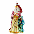 Christopher Radko WISE AND WONDROUS Blown Glass Ornament Religious Jesus