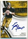 BRETT FAVRE 2016 IMMACULATE COLLECTION INK ON CARD AUTOGRAPH SP AUTO #10 25