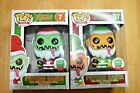 Funko POP! Red Green (7) & Yellow Green (07) Pyscho Santa's - Funko Exclusives